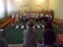 Выступление агитбригады по ПДД на родительском сабрании