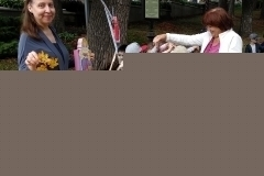 На празднике Осени (библиотека)
