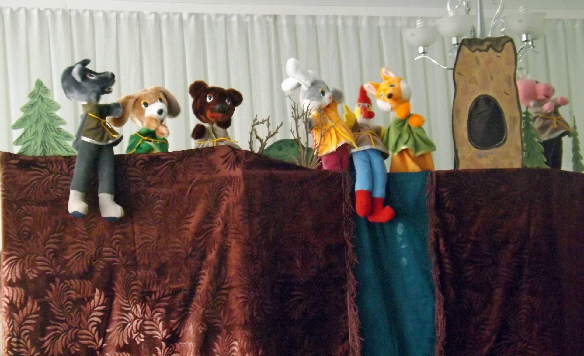 Фото кукольного театра своими руками